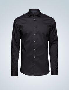 Steel 1 shirt w/ cutaway collar - Tiger of Sweden