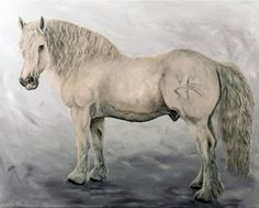 Outeniqua Oil on canvas 1 x 0,8m Horses, Paintings, Animals, Interior, Art, Art Background, Animales, Paint, Animaux