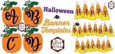 free printable halloween banner templates