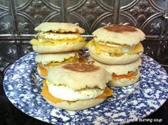 herding cats & burning soup: Tasty Delights--Egg McMuffins!