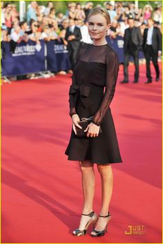 Kate Bosworth . Deauville Film Festival Opening Ceremony . Valentino .