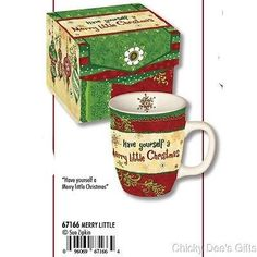 Carson Ceramic Gingerbread Christmas Recipe Mug Multicolor,
