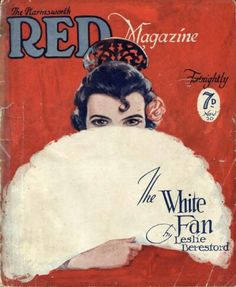 Nov 1925 Harmsworth Red magazine vintage cover