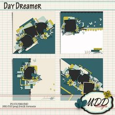 Do you love lots of layers? Day Dreamer by MDD Designs has plenty of paper and photo layers with beautiful clustering too! 50% off til Feb 8th 2017