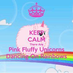 pink fluffy unicorns dancing on rainbows - Google Search