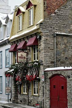 Christmas Trees around the World | Québec, Canada | places