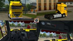 Euro Truck Simulator 2 Daf CF 85 v2 Truck - Tır