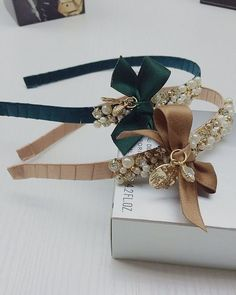 Quality Eiffel Tower Pearls Crystal gold beads embroidery Ribbon Bow lace headband french style hairbands party hairwear accessories with free worldwide shipping on AliExpress Mobile Lace Headbands, Diy Headband, Baby Girl Headbands, Kids Hair Accessories, Handmade Accessories, Handmade Jewelry, Barrettes, Diy Bow, Girl Hair Bows