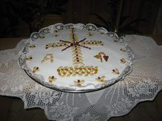 Sheet Cake Recipes, Greek Recipes, Decoupage, Decorative Plates, Desserts, Food, Texas, Cooking, Places