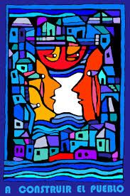 Resultado de imagen para brigada ramona parra Hispanic Heritage, Mosaic Madness, Arte Pop, Colorful Drawings, Vincent Van Gogh, Art Inspo, Disney Characters, Fictional Characters, Street Art
