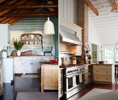 Pic on the right  TREND ALERT! What's hot for 2013? Aly Velji says it's city-meets-country in Urban Farmhouse