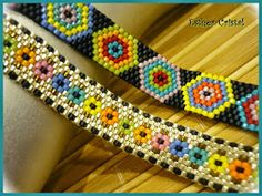 Peyote Beading Patterns, Beaded Bracelet Patterns, Bead Loom Patterns, Loom Beading, Beaded Jewelry, Bead Loom Bracelets, Brooches Handmade, Peyote Stitch, Beaded Bracelets