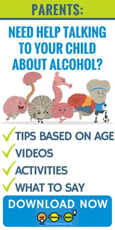 Trouble talking to your teen about alcohol? Download your free guide now. Specifically geared towards 5th and 6th graders, this guide also includes videos and tips for parents to help elementary school and middle school students say no to underage drinking.