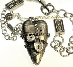 Christi Anderson Jewelry Design...her work is EXTRAORDINARY! Birdhouses...Hearts...Enchanting Everything!!!