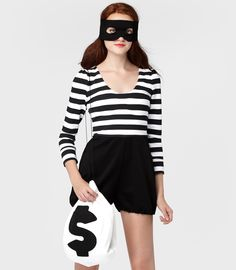 Bandit Costume-looks easy enough to pull off for a last minute party