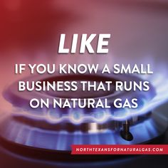 Many small businesses run on natural gas.  #frackfeed #fracking