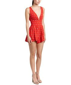 34121624112 SOMEDAYS LOVIN STATE OF BEING SHADOW SPOT ROMPER.  somedayslovin  cloth    That Look