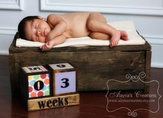 Pregnancy Countdown Blocks Pastel by AlaynasCreations on Etsy Newborn Photo Props, Newborn Photos, Pregnancy Months, Pregnancy Advice, Pregnancy Photos, Pregnancy Countdown, Baby Countdown, Birthing Classes, Newborn Photography