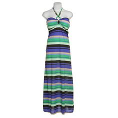 THRILL Multi-Color Striped Maxi Dress w/ Beaded Keyhole,ROY,S Thrill http://www.amazon.com/dp/B00M9H5ZLQ/ref=cm_sw_r_pi_dp_PLa3tb1PD6W4X2PW