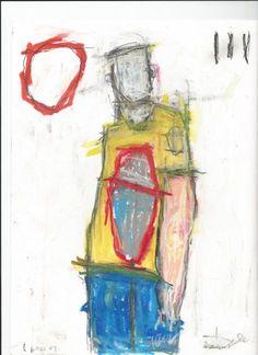 Edward Goss 00000 Geboren in Toronto, Canada, verliet het huis met 17 en werkte in de bouw, later behalen van een diploma in de tuinbouw. Hij is autodidact als kunstenaar en begon met schilderen in 2002. Hij schildert in olieverf en acryl en zijn werk bestaat uit lagen van de krant, tape, foto's en andere materialen.