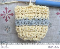 Tutorial: Seamless Single Crochet, Even Better