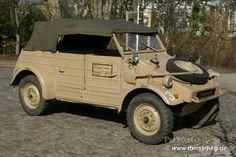 Volkswagen Kübelwagen Type 82 1944.