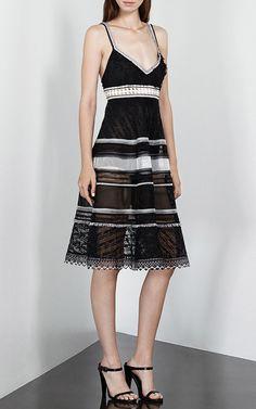 Fringe Track Dress by Jonathan Simkhai for Preorder on Moda Operandi