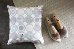 Dots Cushion Cover by NancyStraughan on Etsy, £25.00