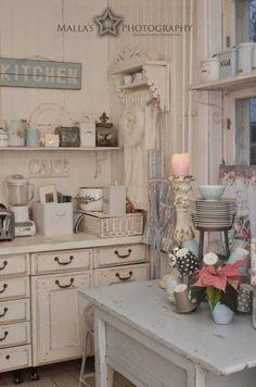 Vintage Sahbby Chic Kitchen Corner.