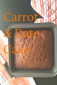 Carrot and Date Cake Like Chocolate, Chocolate Cake, Carrots And Dates, Date Cake, Second Wedding Anniversary, Special Recipes, Quick Easy Meals, Indian Food Recipes, Family Meals