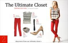 from Shopbop's Ultimate Closet: spring 11 edition