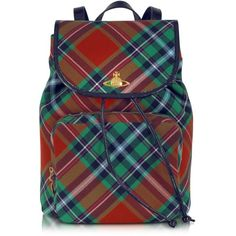 Vivienne Westwood Mac Bruce Tartan Backpack ($798) ❤ liked on Polyvore featuring bags, backpacks, snap bags, colorful backpacks, multi colored backpacks, zip bags и colorful bags