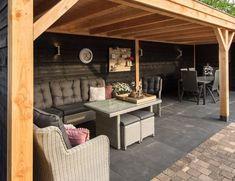 Pergola For Small Backyard Backyard House, Garden Bar, Garden Buildings, Indoor Outdoor Living, Backyard Pavilion, Backyard Design, Backyard Landscaping Designs, Backyard Bar, Modern Fence Design