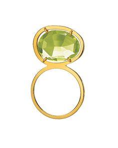 Visibly Interesting: green gemstone