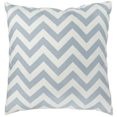 I pinned this Zig Zag Pillow in Blue - Set of 2 from the Casual Contemporary with Handy Living event at Joss & Main!