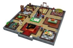 Colonel Mustard in the study with the candlestick | The Brothers Brick | LEGO Blog
