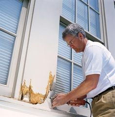 How to Replace a Rotted Windowsill - This Old House ...