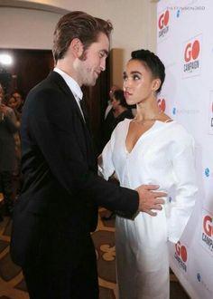 Stunning interracial couples Fka Twigs and Robert Pattinson photography november 2015