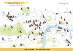The Paddington Trail map