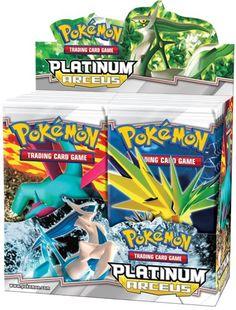 Pokemon Platinum Arceus (PL4) Booster Box (36 Packs)                                                                                                                                                                                 More