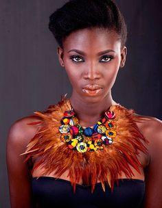 Christie Brown n'est pas un simple patronyme.... Christie Brown c'est le label dans lequel la jeune créatrice de mode ghanéenne, Aisha...
