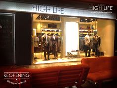 La elegancia se renueva, #Reopening boutique Centro Santa Fe. Visítala: www.highlife.com.mx