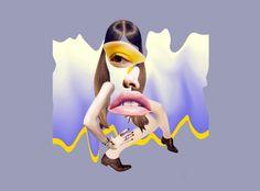 Fashion Collages by Anjela Freyja | Montreal, Canada