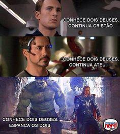 Resumindo: O Hulk é foda! kkkkk