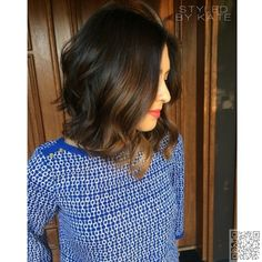 3. #Long, Slightly #a-lined Bob Loose #Curls - Summer #Hair: Loose #Waves and Curls Are Causing a Stir ... → Hair #Killer