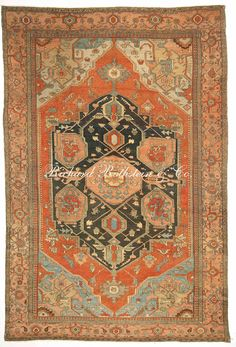 Classic Masterpiece Antique Serapi Rug from Richard Rothstein & Co. Vintage Rugs, Interior Rugs, Morrocan Rug, Asian Rugs, Serapi Rug, Persian Rug Designs, Rugs On Carpet, Homemade Rugs, Contemporary Rugs