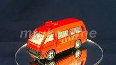 TOMICA 119 HIACE FIRE CHIEF CAR | 1/66 | JAPAN | 119B-4 | EARLY WINDOW SHAPE