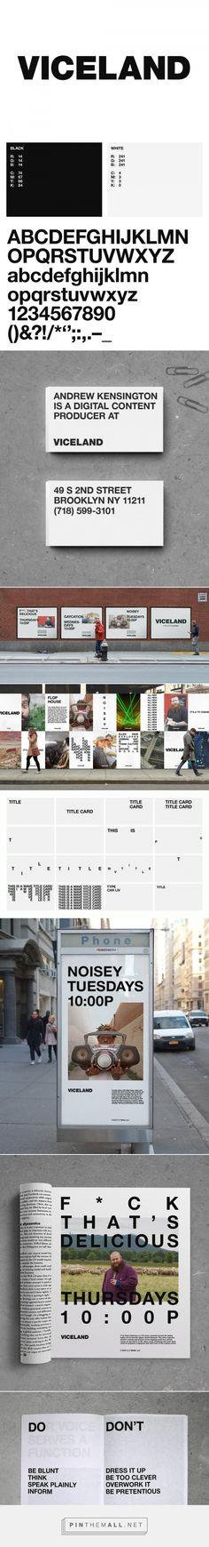 La televisión de Vice se estrena con una identidad totalmente neutra | Brandemia_... - a grouped images picture - Pin Them All
