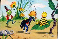 Gregory Grasshopper: Wilbur Wasp is Ill (Original) art by Gregory Grasshopper…
