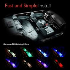 Car Interior Kit interior decoration and Led Neon, Pixar Cars Birthday, Dog Car Accessories, Interior Accessories, Car Ornaments, Car Gadgets, Remote Control Cars, Strip Lighting, Interior Lighting